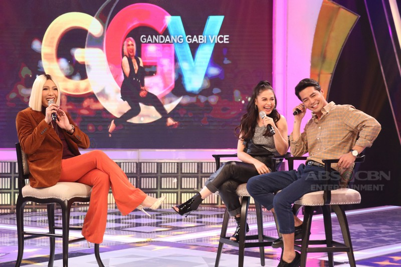 PHOTOS: Maja Salvador and Zanjoe Marudo on GGV