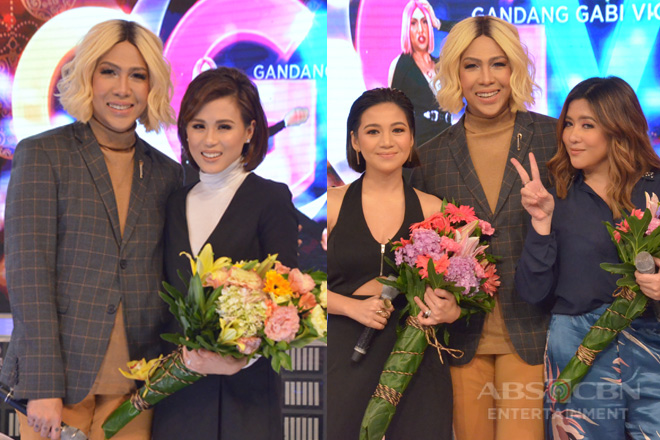 PHOTOS: Kyla, Angeline Quinto at Toni Gonzaga on GGV