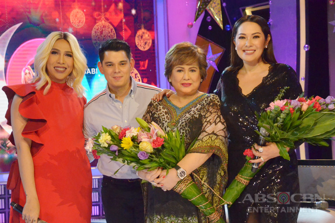 PHOTOS: Richard, Ruffa, and Anabelle Rama on GGV