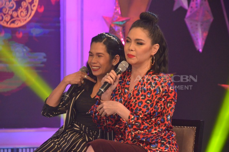 PHOTOS: K Brosas and Pokwang on GGV
