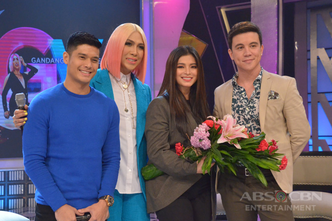 PHOTOS: Angel Locsin, JC De Vera and Arjo Atayde on GGV