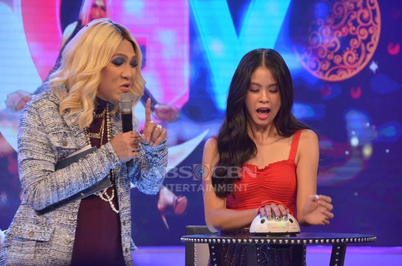 PHOTOS: Mga nakakatawang reaksyon ng ilang Kapamilya stars sa GGV KuryenTanong!
