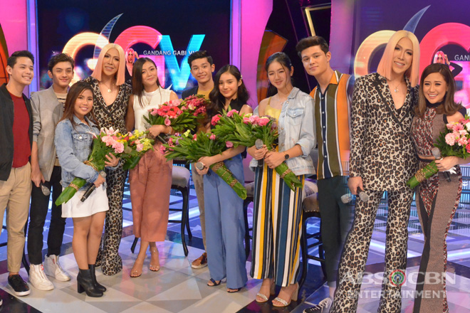 PHOTOS: Morissette Amon and PBB Otso Teens on GGV