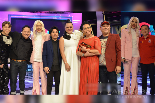 PHOTOS: Empoy, Lassie, MC, Bayani Agbayani, Juliana, Jobert and Bong Go on GGV