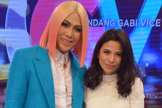 PHOTOS: Janine Tenoso on GGV