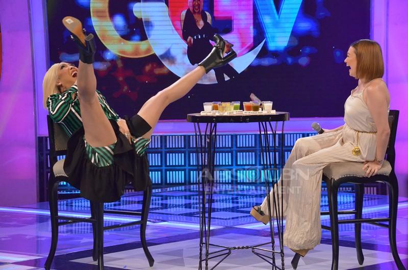 PHOTOS: Angelica Panganiban and Zanjoe Marudo on GGV