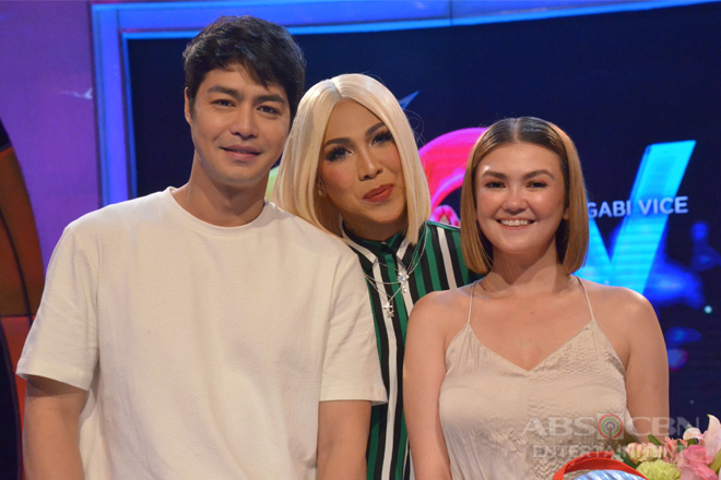 PHOTOS: Angelica Panganiban and Zanjoe Marudo on GGV