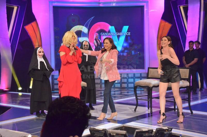 PHOTOS: Ms. Charo Santos and Bea Alonzo on GGV
