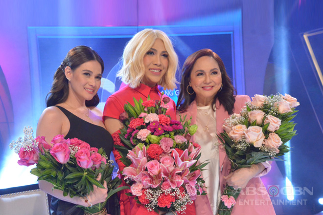 PHOTOS: Ms. Charo Santos and Bea Alonzo on GGV
