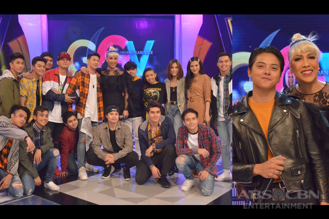 PHOTOS: Gonzaga sisters, Hashtags, Camille, Christian and Daniel Padilla on GGV
