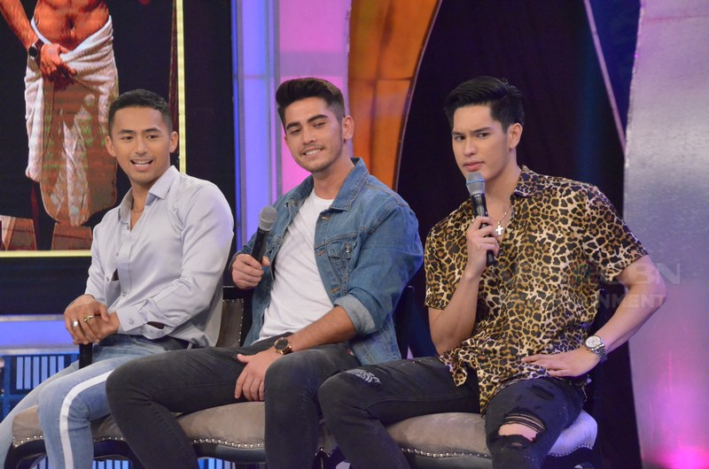 PHOTOS: Gab Lagman, Enzo Pineda and Mark Mcmahon on GGV