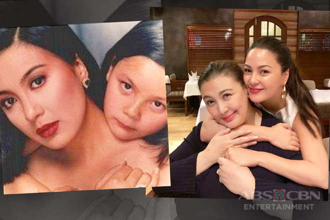 LOOK: Sharon Cuneta's THEN & NOW photos with her daughter KC Concepcion