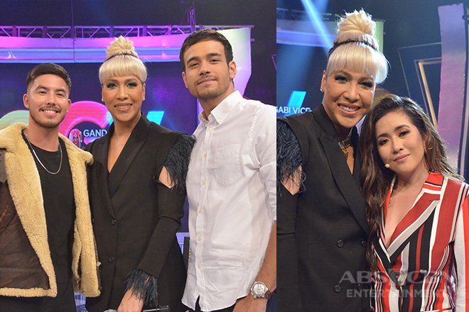 PHOTOS: Angeline Quinto, Tony Labrusca and Kit Thompson on Gandang Gabi Vice