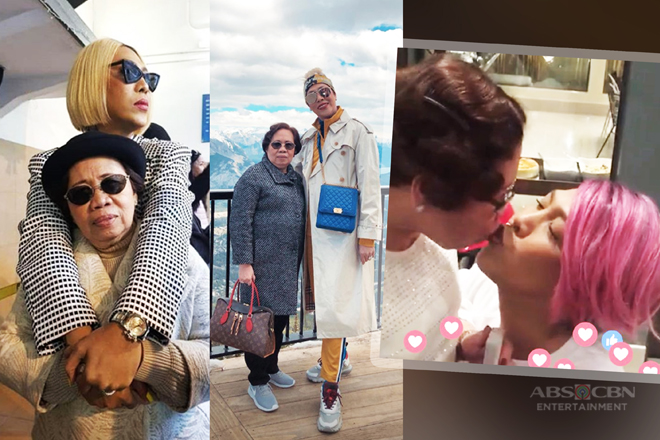 LOOK: 24 Photos that captured Vice Ganda's overflowing love for Nanay Rosario