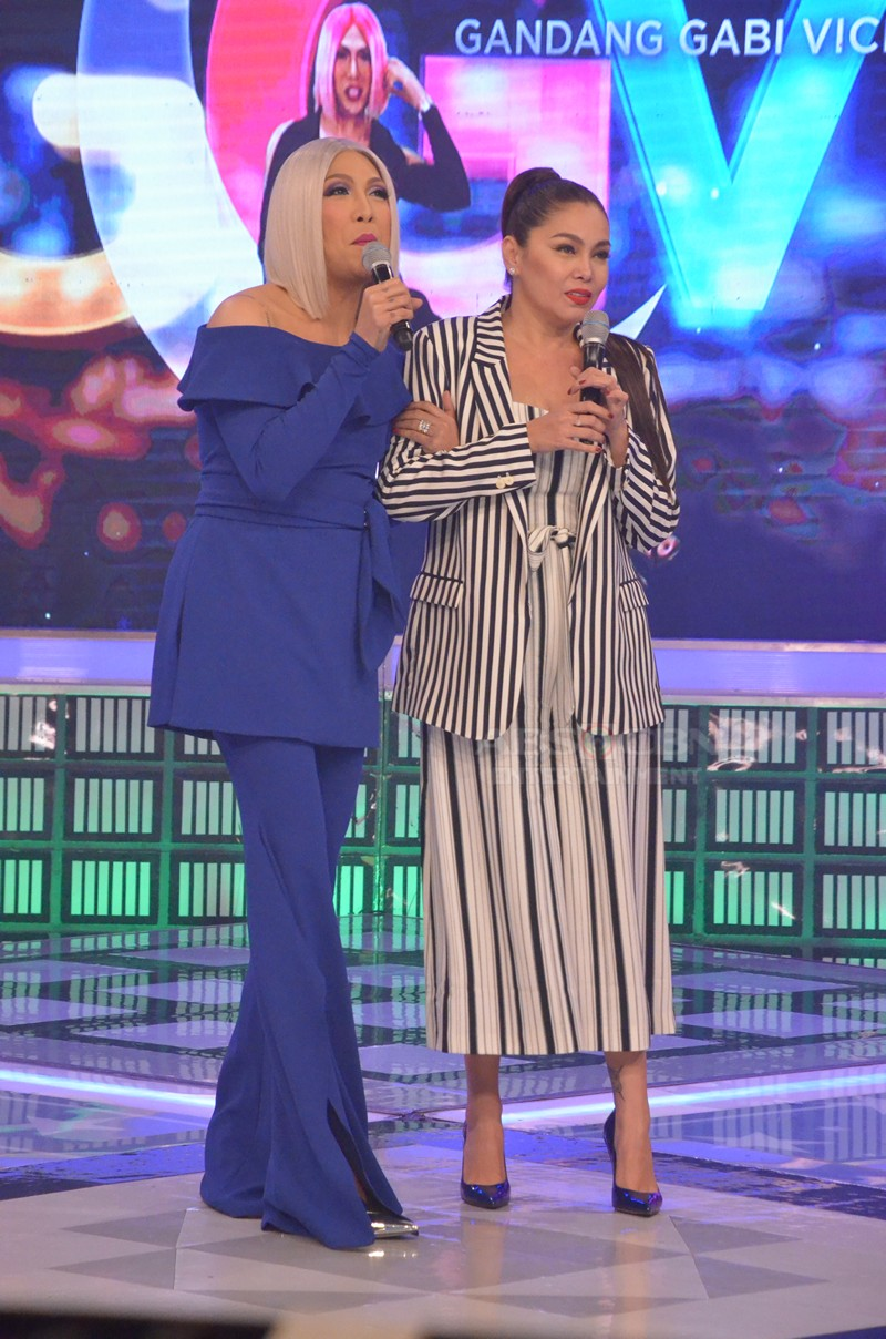 PHOTOS: K Brosas and Ateneo Lady Eagles on Gandang Gabi Vice