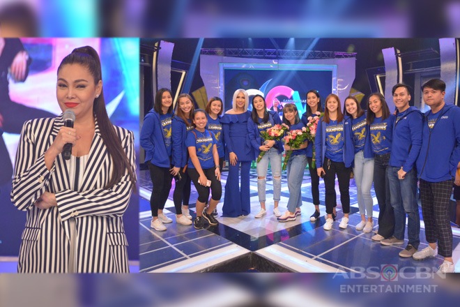 PHOTOS: K Brosas and Ateneo Lady Eagles on Gandang Gabi Vice