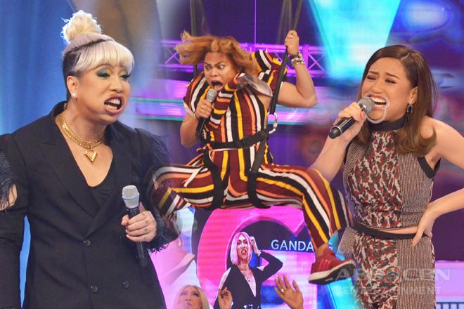 TINGNAN: Mga nakakalokang reaksyon ng ilang Kapamilya stars sa GGV Kalerki-Oke challenge!