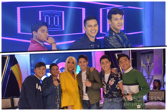 PHOTOS: Hashtags McCoy, Wilbert & Rayt, and PBB Otso Batch 3 Boys on GGV