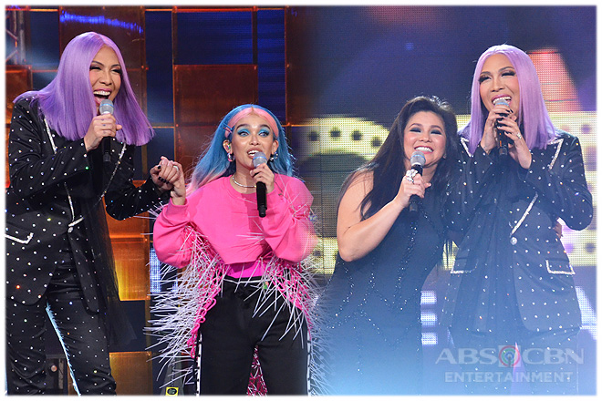PHOTOS: KZ Tandingan and Regine Velasquez-Alcasid on Gandang Gabi Vice