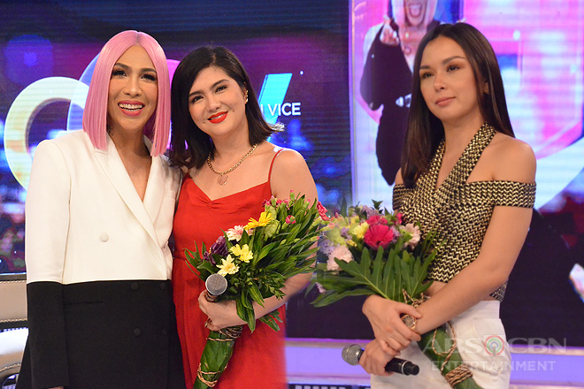 PHOTOS: Beauty Gonzalez and Dimples Romana on Gandang Gabi Vice