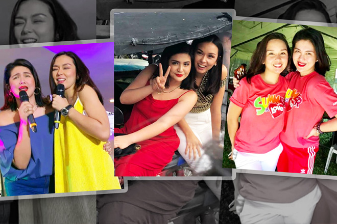 IN PHOTOS: The golden friendship of Dimples Romana and Beauty Gonzalez
