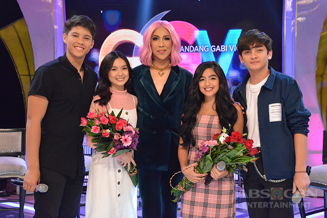 PHOTOS: Kyle Echarri, Francine Diaz, Andrea Brillantes and Seth Fedelin on Gandang Gabi Vice