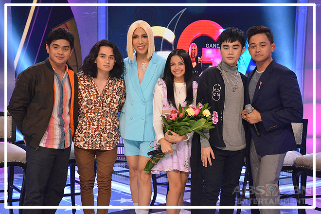 PHOTOS: Zephanie Dimaranan, Lucas Garcia, Lance Busa, Dan Ombao and Miguel Odron on Gandang Gabi Vice