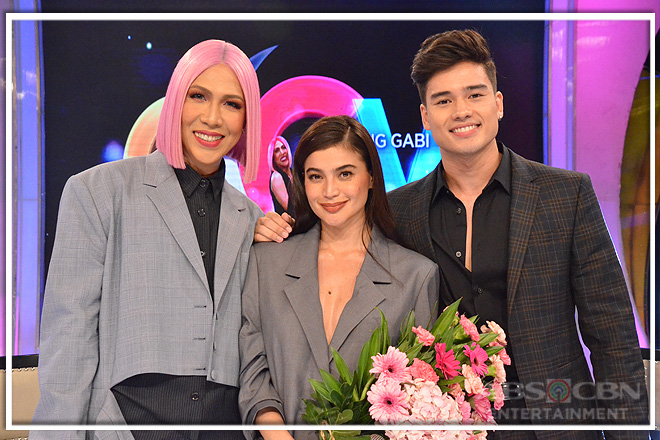 PHOTOS: Anne Curtis and Marco Gumabao on Gandang Gabi Vice