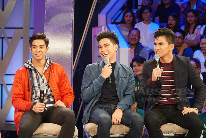 PHOTOS: Jin Macapagal, Eris Aragoza, Jiro Custodio, Moira Dela Torre and Joemel Siacor on GGV