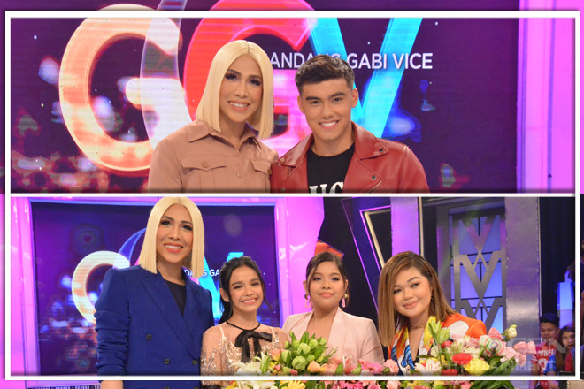 PHOTOS: Zephanie, Elha, Janine, Bailey and Viral Dancing Boy Scouts on GGV