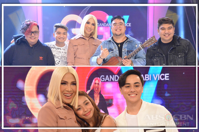 PHOTOS: MayWard and Agsunta on Gandang Gabi Vice