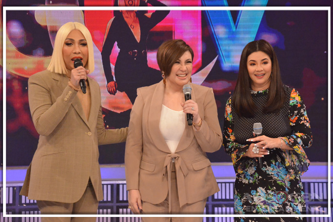 PHOTOS: Sharon Cuneta and Regine Velasquez-Alcasid on Gandang Gabi Vice
