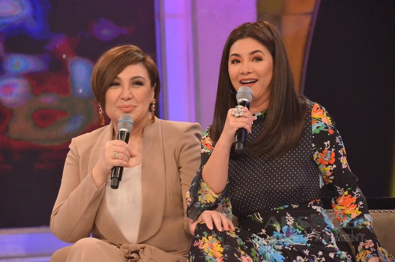 PHOTOS: Sharon Cuneta and Regine Velasquez-Alcasid on Gandang Gabi Vice
