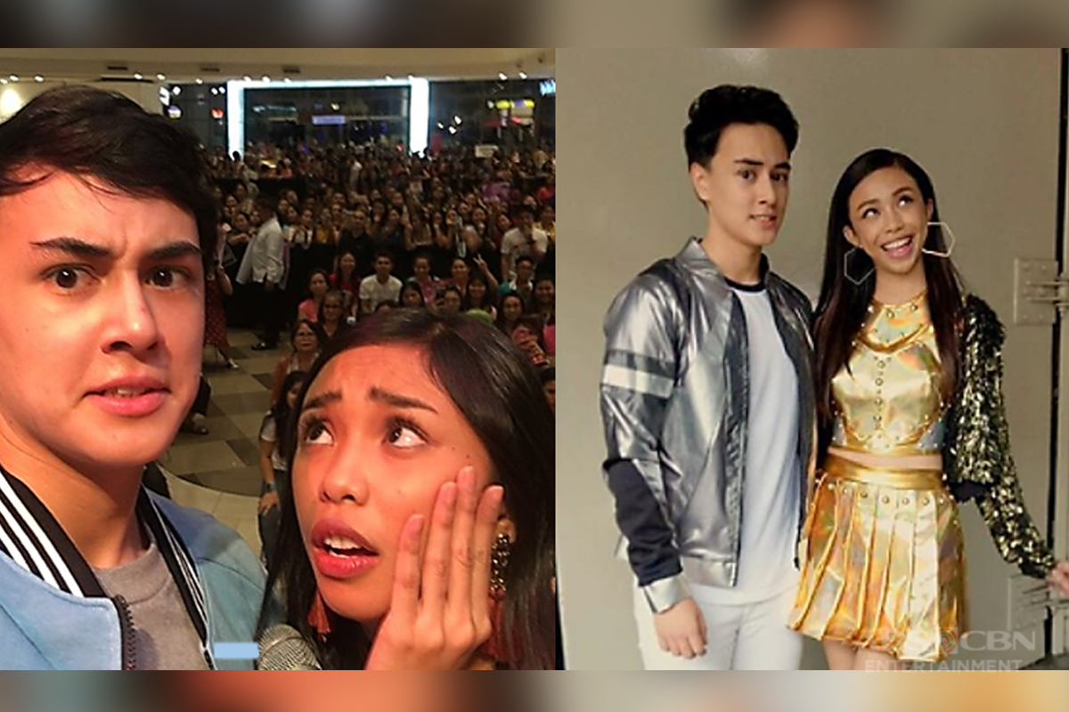 "GGV ONLINE EXCLUSIVE: Edward and Maymay's kilig answers to ""Who's More Likely To"" questions!"
