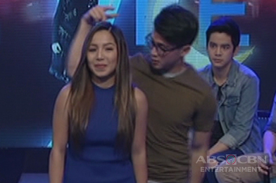 Dawn surprises Arron on Gandang Gabi Vice