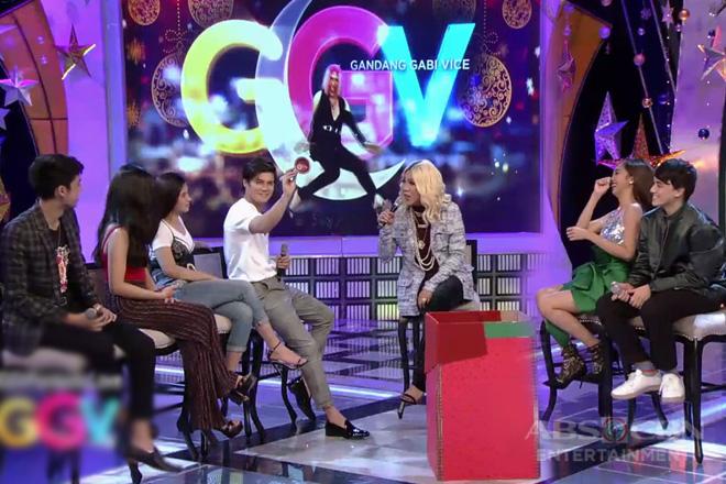 GGV: DonKiss, LoiNie, at MayWard, game na game sa challenge ni Vice sa kanila