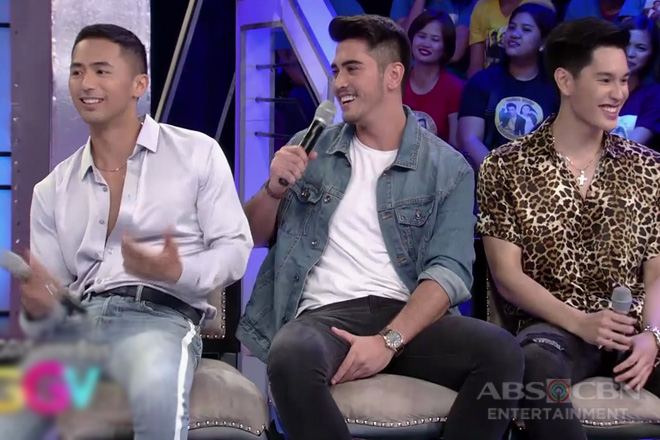 GGV: Gab, Mark and Enzo share how they achieve their summer bodies