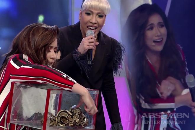 GGV: Angeline Quinto, napatakbo sa takot dahil sa kakaibang hamon ni