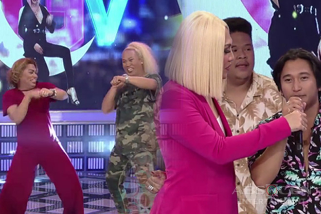 GGV: Vivoree, CK, Brenda at Negi, hindi nagpatalo sa Mathematics dance challenge