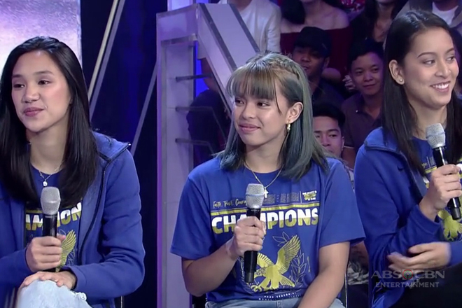 GGV: Ateneo Lady Eagles, hindi pa rin makapaniwala sa pagkapanalo sa UAAP Season 81 Women's Volleyball